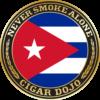 ISOM Cuban cigar badge